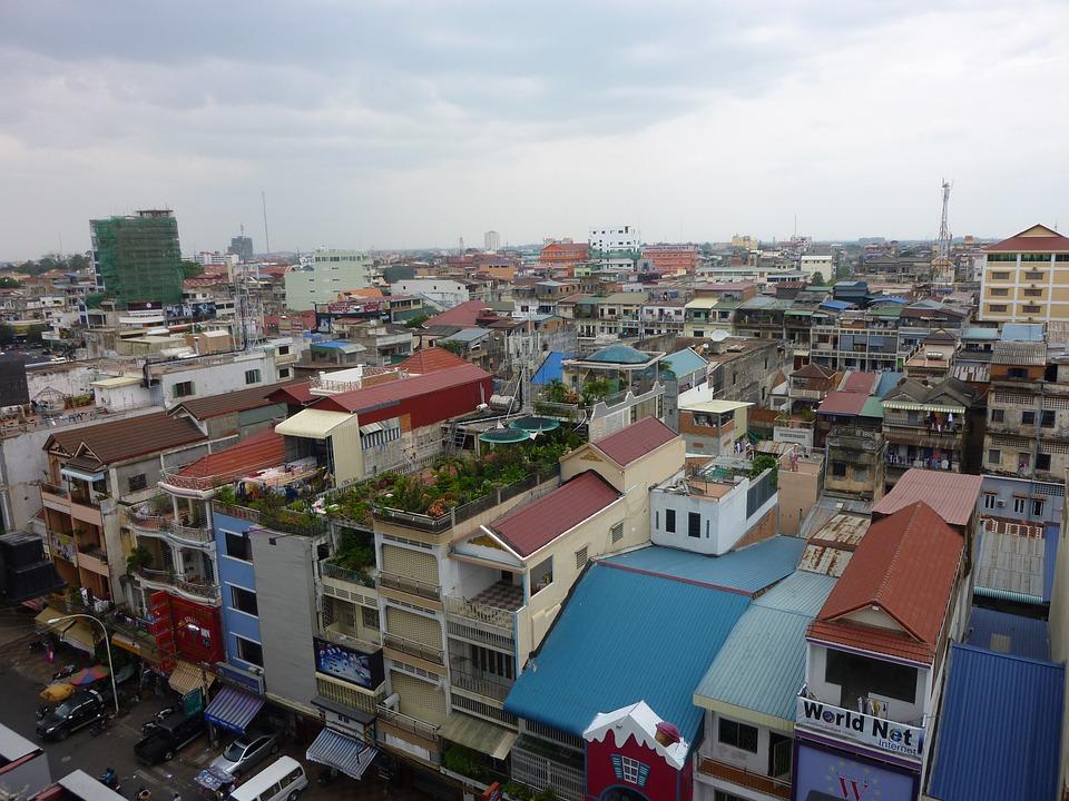 Cambodia, Phnom Penh, City, Asia