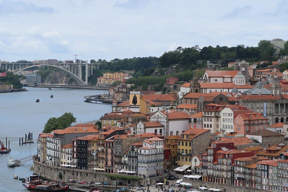 Porto, City, River