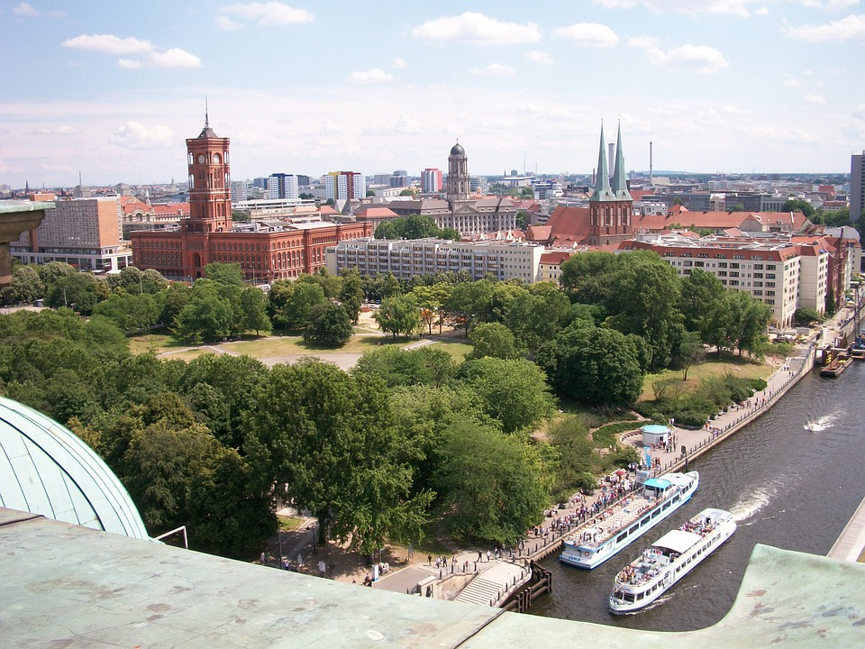 City, Capital, Berlin, Dom, Red Town Hall
