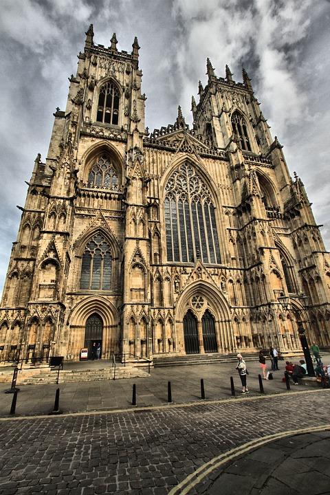 York, Minster, England, Architecture, City, Religion