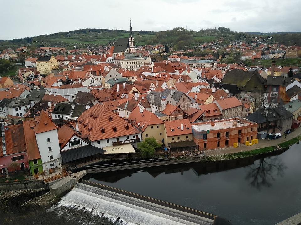 Travel, Czech, River, City, Heritage, Unesco
