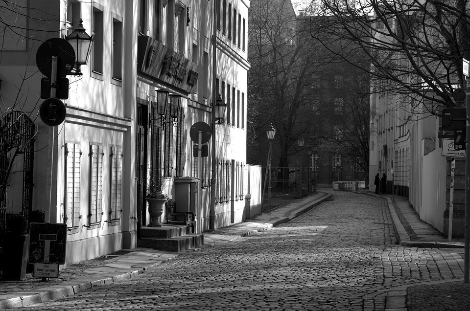 Alley, Road, City, Historic Center, Berlin