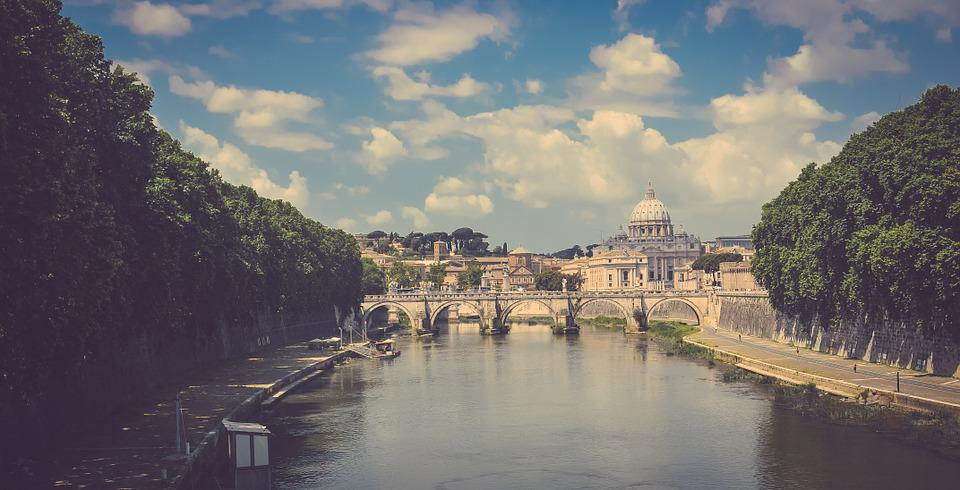 City, Italy, Rome, River, Tiber, Travel, Europe