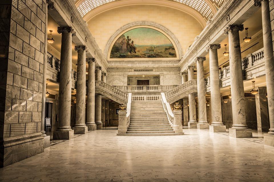 Capitol, City Salt Lake, Utah, Stairs