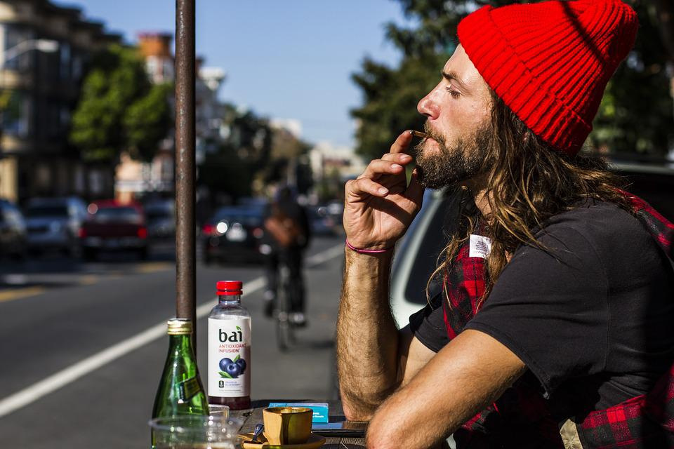 San Francisco, Bikes, City, Street, Weed, Smoke, Coffee