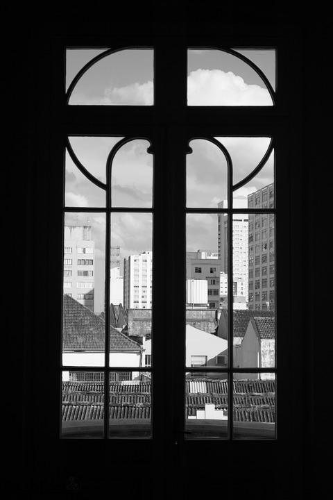 Window, City, Vision, Shadow, Dark