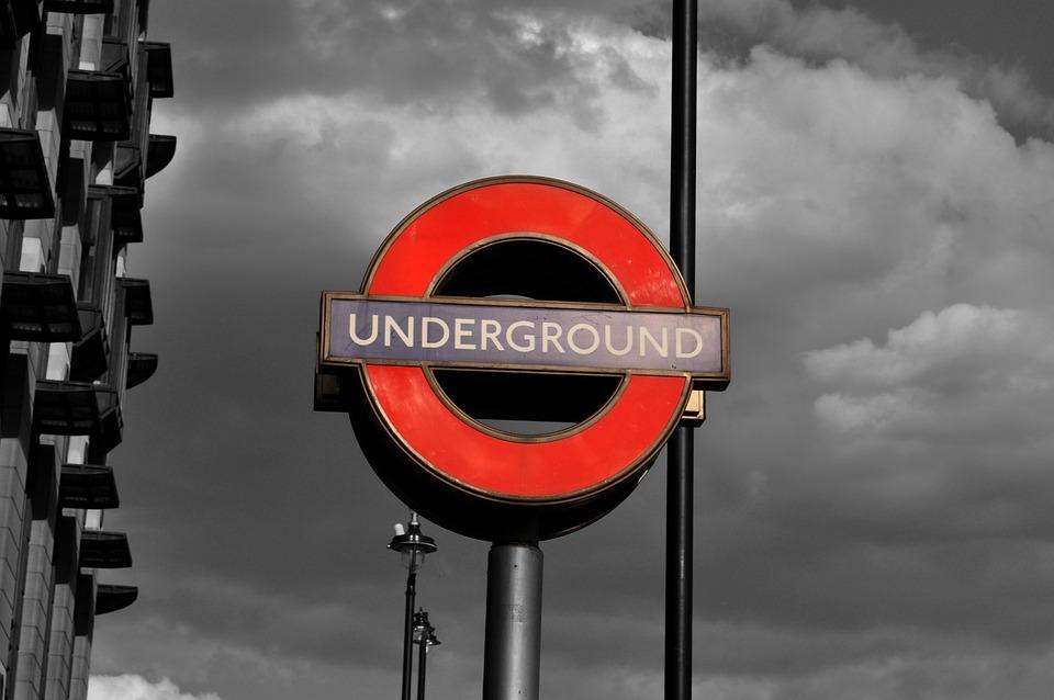 Pile, Shield, Travel, Road, City, London, Underground