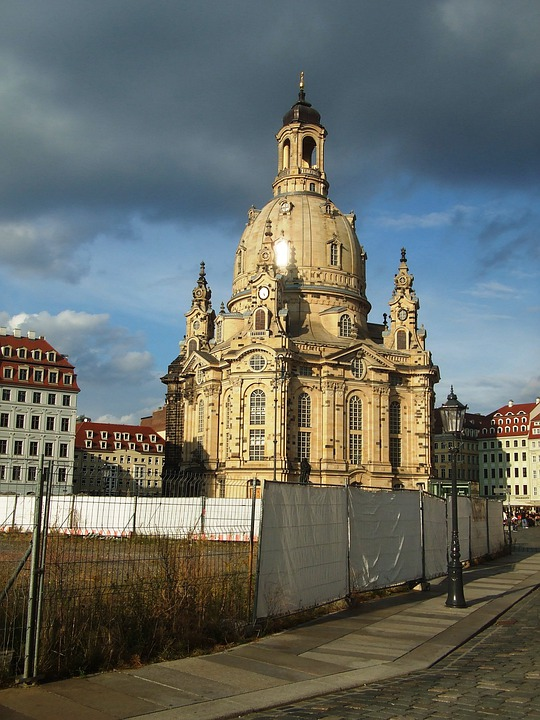 Frauenkirche, Dresden, Church, City, Site