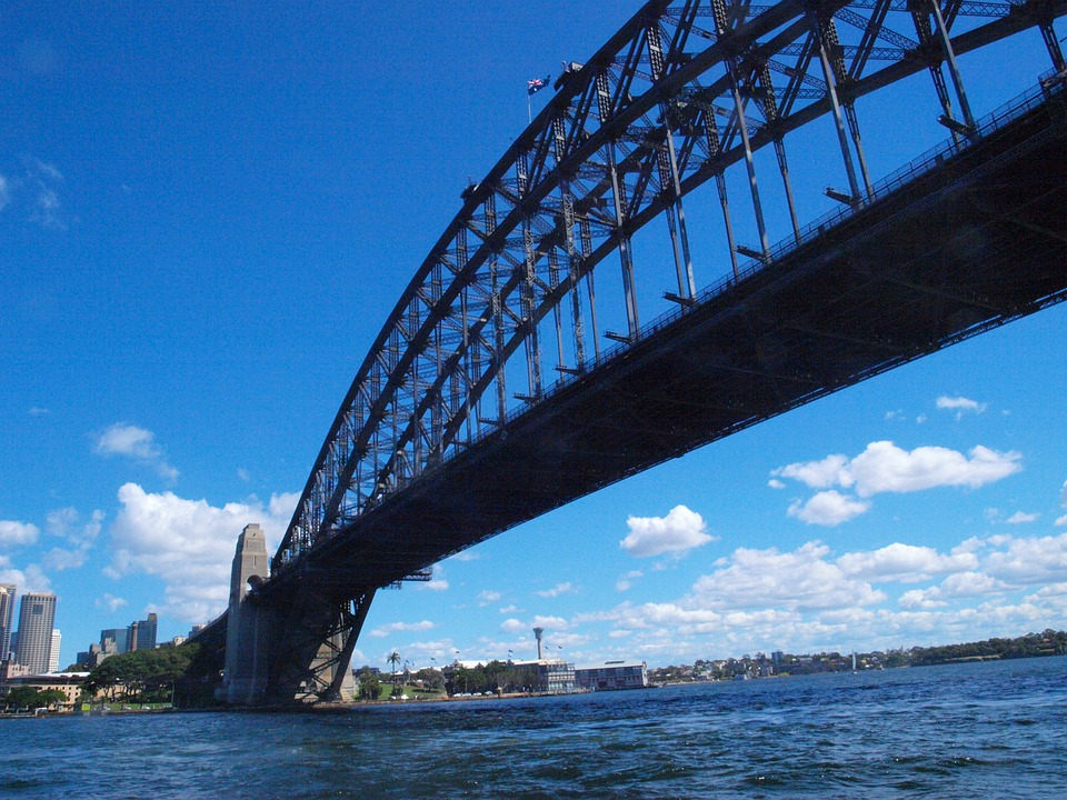 Sydney, Harbor, Bridge, Architecture, Skyline, City