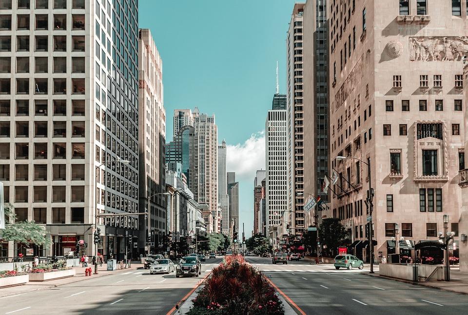 Chicago, City, Building, Skyline, Skyscraper