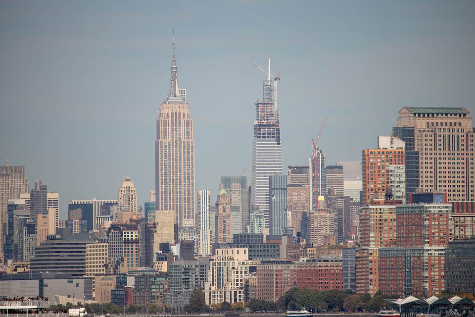 Empire, State, City, Manhattan, Skyscraper, America