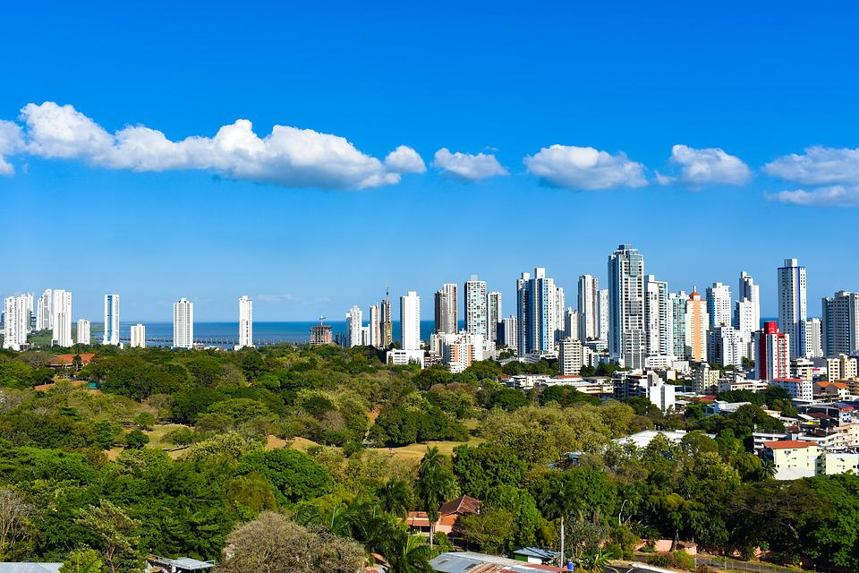 Panama, City, Ocean, Nature, Skyscraper