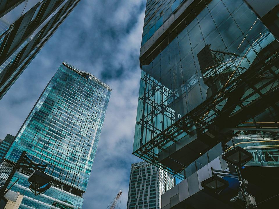 City, Buildings, Skyscrapers, High Rise Buildings