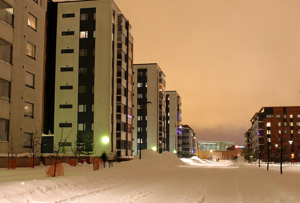 Oulu, Finland, Winter, Snow, Ice, City, Cities