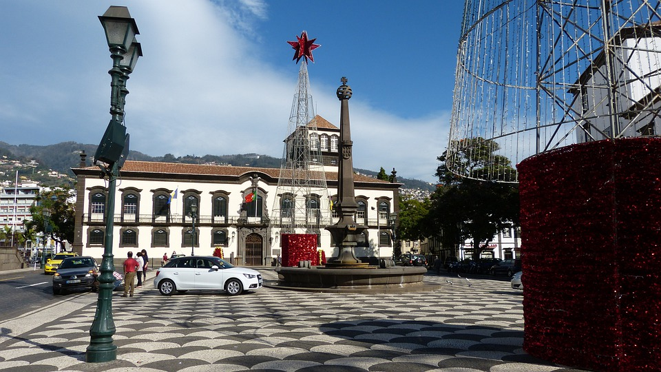 Madeira, Funchal, Space, City