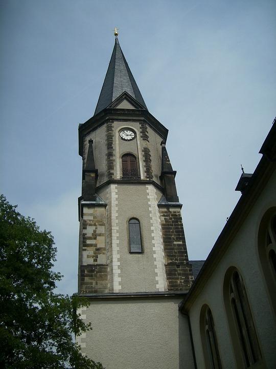 Lengenfeld, City, Steeple