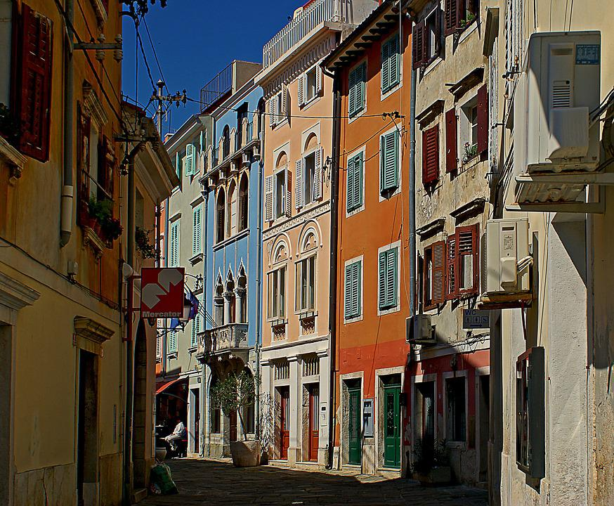 Old Houses, Street, City, The Old Town, Architecture