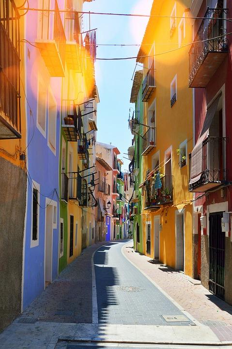 Street, City, Architecture, Urban Areas, Travel, Road