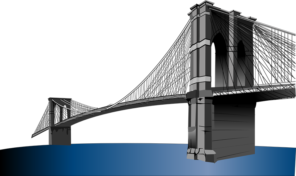 Brooklyn Bridge, Suspension Bridge, New York, City