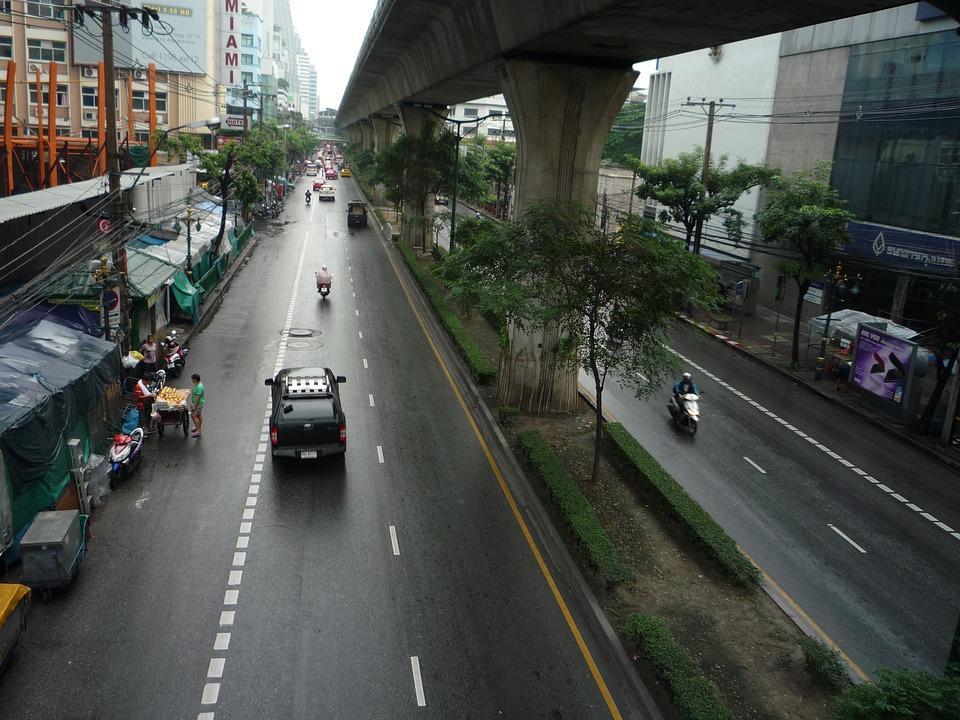 Bangkok, Big City, City, Thailand, Asia
