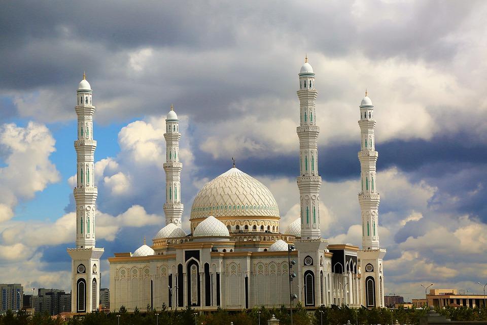 Cami, The Minarets, Dome, City, Islam, Religion