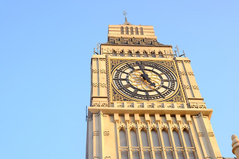 Architecture, Sky, Clock, Building, Travel, City, Tower