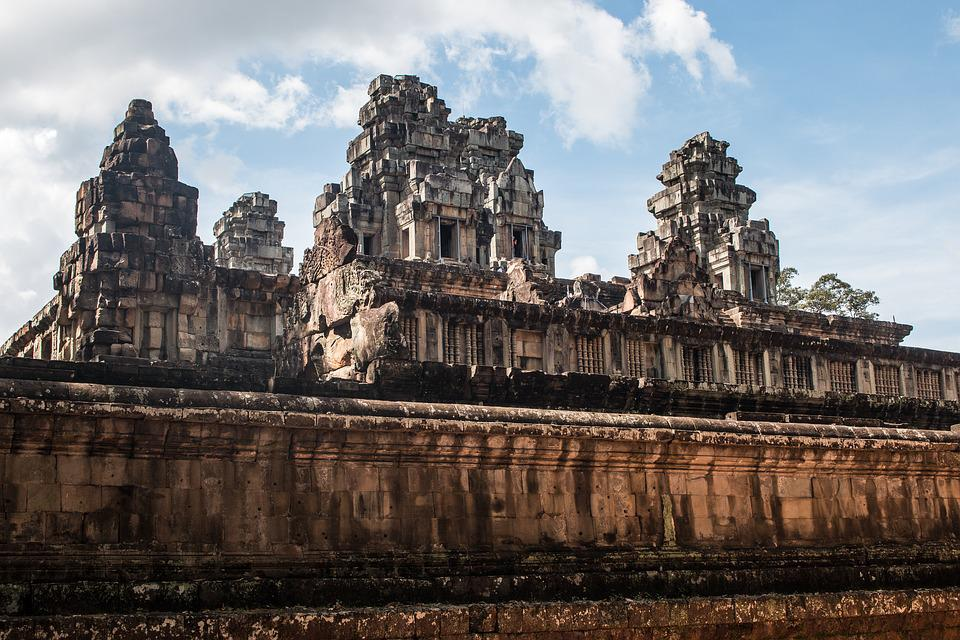 Ta Keo, Cambodia, Temple, Fortress, City, Ruins, Tower