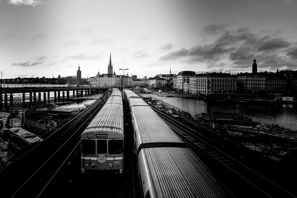 Trains, Sweden, Stockholm, Train, Railway, City