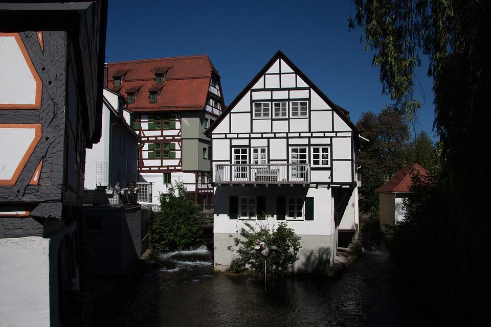 Ulm, City, Structures, Truss, Architecture, Building