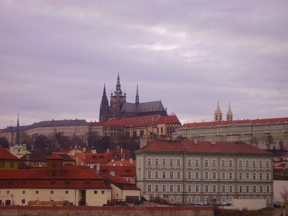Prague, Czech Republic, City, Urban, Buildings, Church