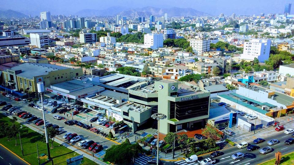 City, Urban Landscape, Travel, Air, Horizon