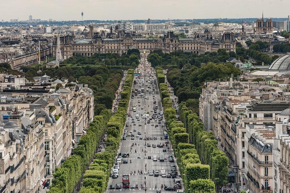 City, Architecture, Travel, Panoramic, View