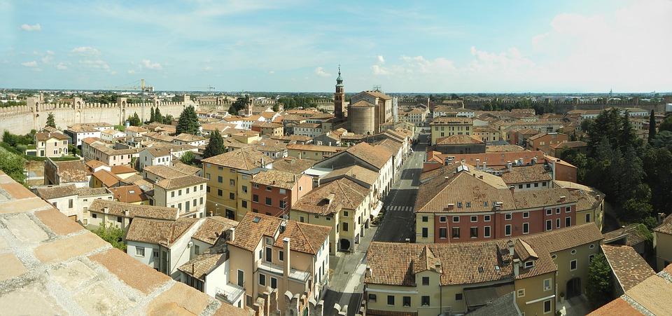 Citadel, Padova, City, Veneto, View