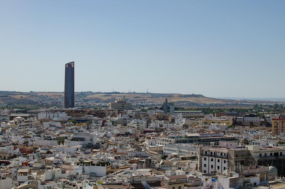Sevilla, Views, Viewpoint, Architecture, Seville, City