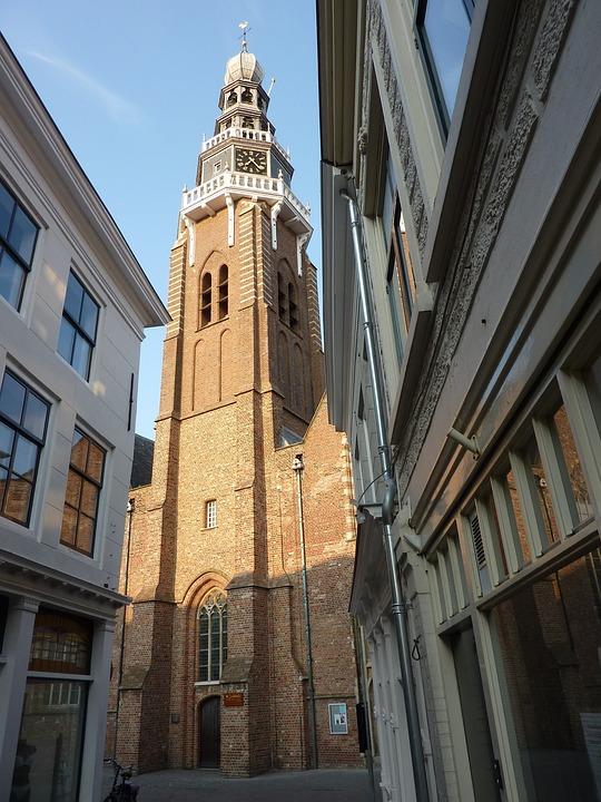 Vlissingen, Netherlands, City, Buildings, Structures