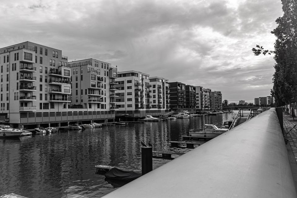 Water, River, City, Building, Canal, Architecture