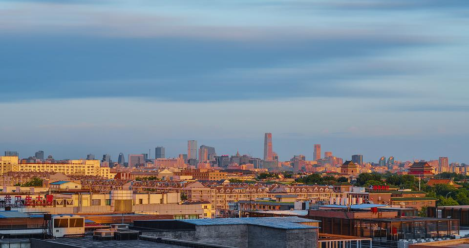 Panoramic, City, Travel, Water, Cityscape, Architecture