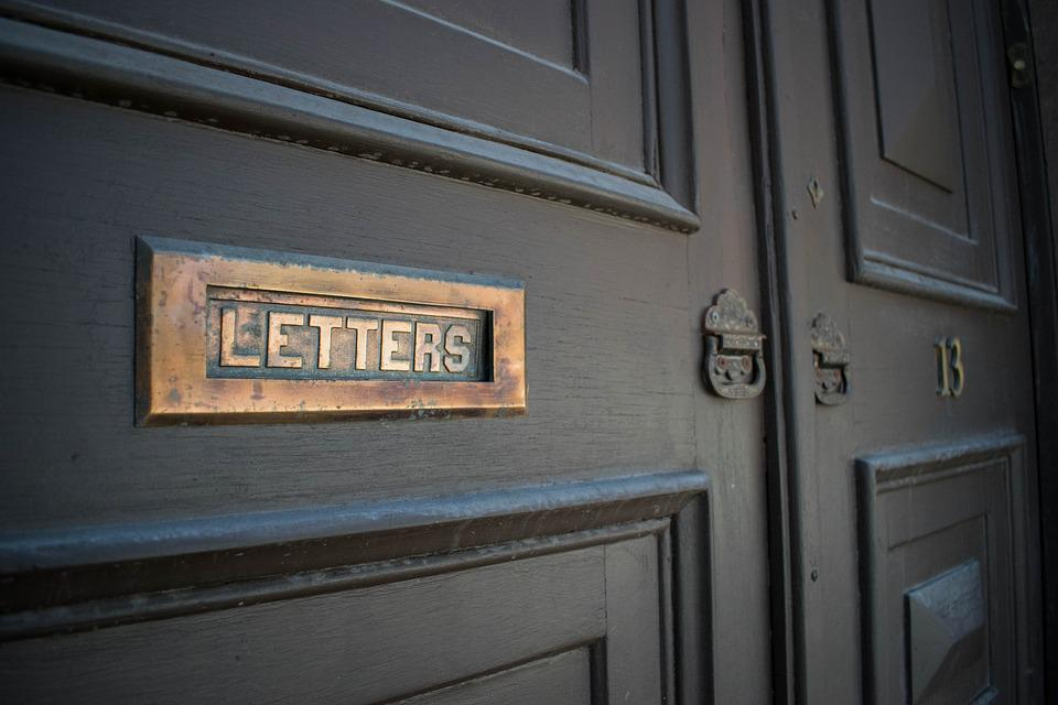Letters, Door, City, Wood, Entrance, House