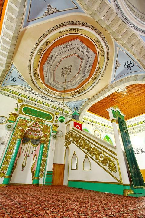 Cami, Dome, City, Middle East, Faith, City center, On