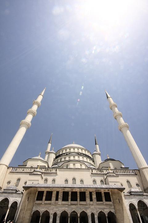Cami, Minaret, Aesthetics, Islam, Faith, City center