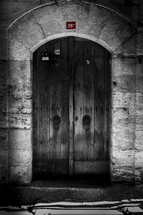 Door, On, Date, Old, Istanbul, City center