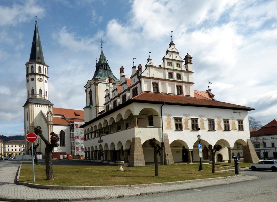 City hall, Building, Slovakia, Architecture, Square