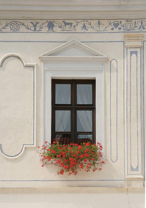 Window, City hall, Trnava