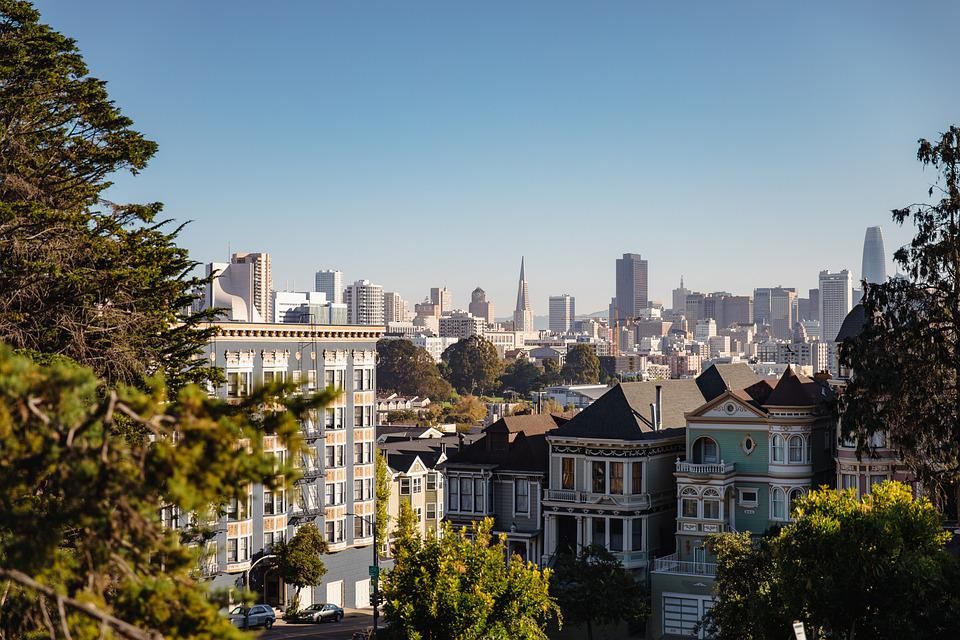 San Francisco, Skyline, City, Cityscape, Architecture