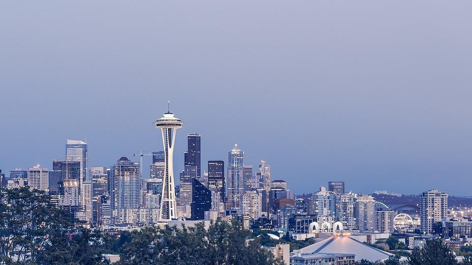 Buildings, Seattle, Skyline, City, Cityscape, Downtown