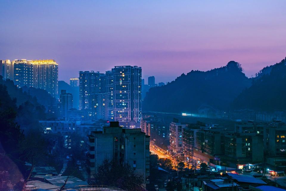 City, Cityscape, A Bird's Eye View, Building, Skyline