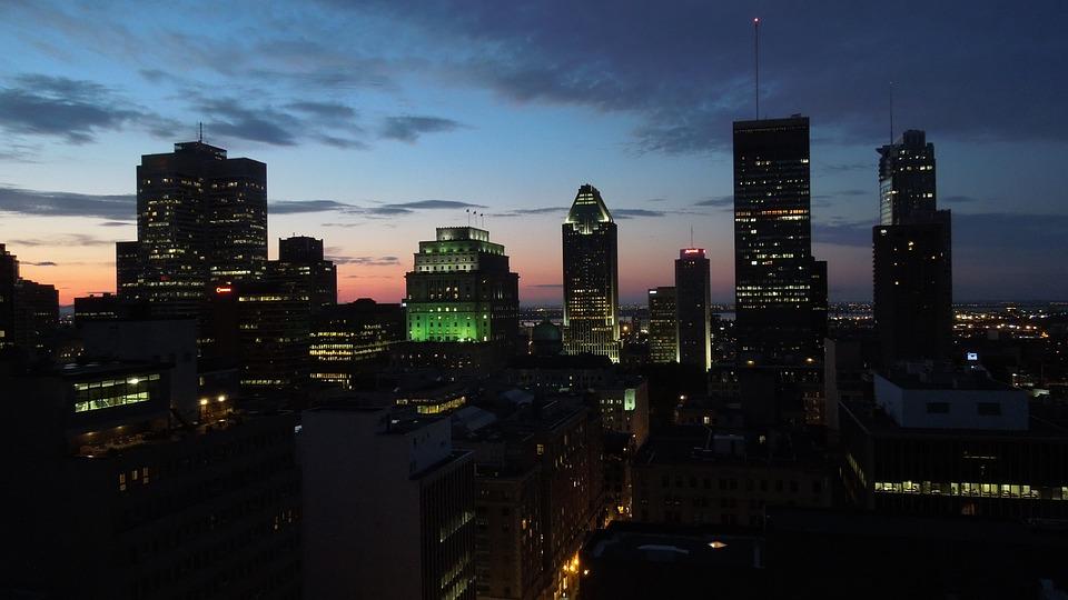 Architecture, Buildings, City, City Lights, Cityscape