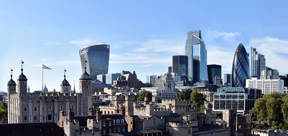 London, Cityscape, City Of London, England, Building
