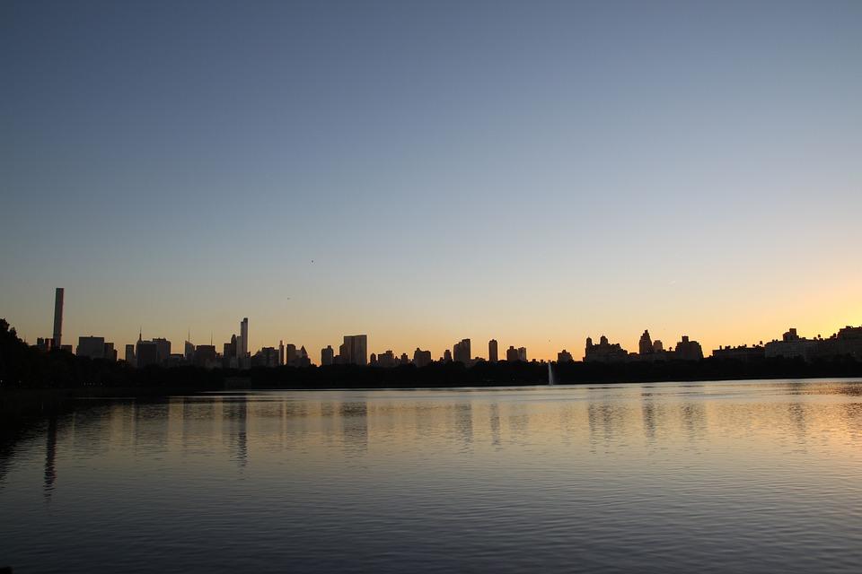 New York, Manhattan, Cityscape, Hoboken, Battery Park