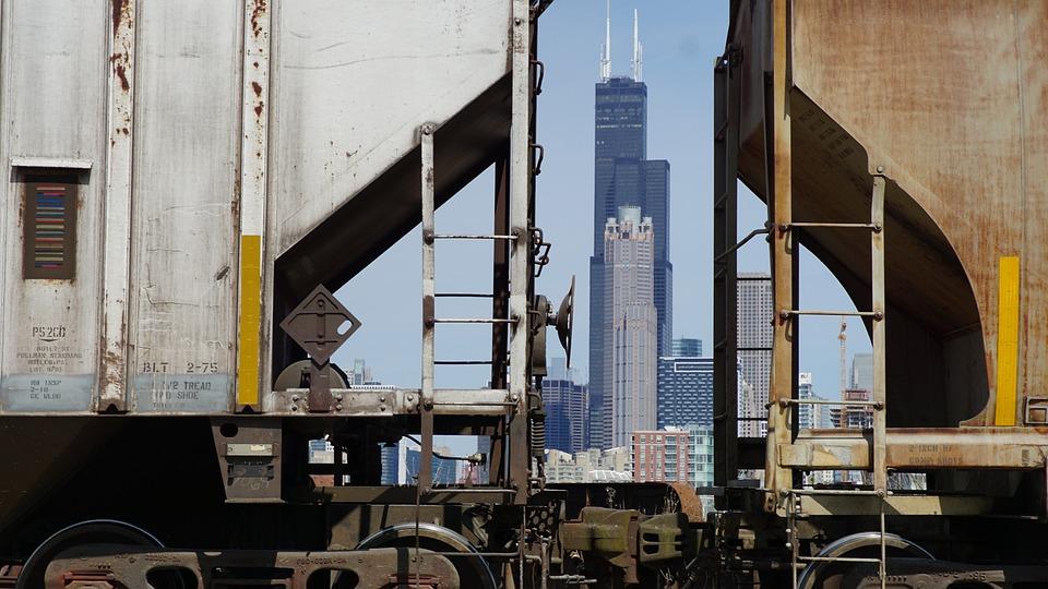 Chicago, Skyline, Cityscape, Skyscraper Willis Tower